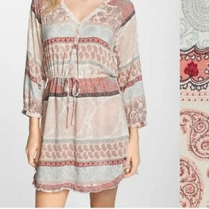 O'Neill Miki Mixed Paisley Cover-Up Dress XL